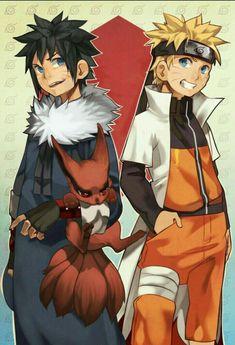 Naruto e Menma Uzumaki Naruto Shippuden Sasuke, Anime Naruto, Naruto And Sasuke Kiss, Comic Naruto, Naruto Cute, Naruto Funny, Naruko Uzumaki, Sasunaru, Narusasu
