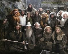 """Number-one-hobbit PJ gathered the (how he calls it) """"Cast from Hell"""" for a group picture"""