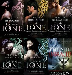 This series of books is a must for paranormal romance readers and those who love sexy demons(vampires are there too)