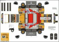 Truck Paper Model Papercraft | 5mm拼豆livelove图纸_5mm拼豆livelove图纸图片分享