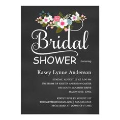 DealsChalkboard Rustic Floral Bridal Shower Personalized Announcementslowest price for you. In addition you can compare price with another store and read helpful reviews. Buy
