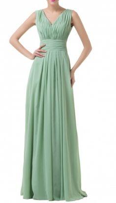 Rakel green dress from Mybella