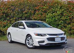 2016 #Chevy #Malibu Hybrid and class-leading economy | Car News | Auto123