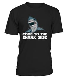 # Come To The Shark Side T-Shirt Week 2017 .   This shark graphic tee is fun shirt to wear to celebrate the week for sharks. This funny shark shirt is a great graphic shark shirt for nature lovers, ocean fans, reality TV fans, documentary lovers, naturalists, swimmers, and campers. TIP: If you buy 2 or more (hint: make a gift for someone or team up) you'll save quite a lot on shipping. Guaranteed safe and secure checkout via:  Paypal | VISA | MASTERCARD Click the GREEN BUTTON, select your…