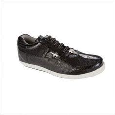 sale retailer 93620 3fe83 Polo de Belvedere Oxford en Negros en 206 dólares Black Sneakers, Black  Men, Exotic