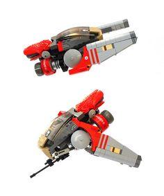 Xapuri by Adrian Florea Lego Spaceship, Lego Robot, Spaceship Design, Robot Art, Lego Mechs, Lego Bionicle, Lego Design, Legos, Nave Lego