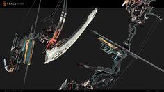 ArtStation - 3D Sci-Fi Bow by Trace Studio. Contest entry, TRACE studio