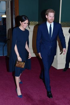 Meghan Markle, True Style Superhero, Wore a Badass Cape Dress to the Queen's Birthday Concert