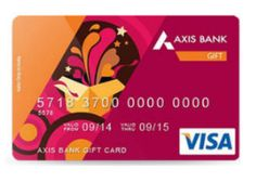 Axis Bank Gift Card at Extra 3% Cashback Offer : Get 3% Cashback on Axis Bank Gift Card - Best Online Offer