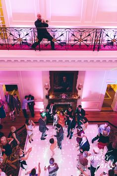 Hedsor House Bucks - Uplighters to hall and atrium and white starlit dance floor by www.stressfreehire.com #venuetransformers (Photo copyright Mister Phill)