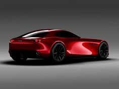 Mazda presents the RX-Vision Concept sports car with a new rotary engine, at the 2015 Tokyo Motor Show. Mazda RX-Vision Concept is powered by a next-generation… Rx7, Exotic Sports Cars, Exotic Cars, Bugatti, Supercars, Tokyo Motor Show, Transportation Design, Automotive Design, Auto Design