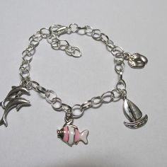 Island Life Salt Air Charm Bracelet from SUZQ'S STORE for $12.00