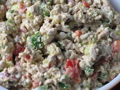 """This is an adopted recipe Ive not yet had the chance to try. Heres what the OP had to say about it: I've also heard this referred to as """"Vegan Tuna Salad.""""  I absolutely love this salad!  I'm not a vegetarian, let alone vegan, but this is fabulous.  Ive been buying it from Whole Foods Market in their Deli section (expensive little 8 ounce containers) so I came up with this by reading the ingredients listed on the container!  I love it with tortilla chips..."""