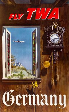 TWA - Germany - William Ward Beecher - 1959