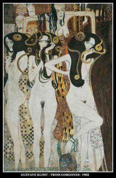 Gustav Klimt - Les trois Gorgones (1902) More