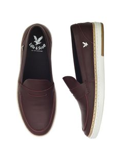 Lyle & Scott Carn Penny Loafers