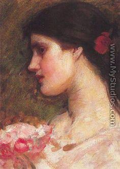 Camellias 1910 - John William Waterhouse