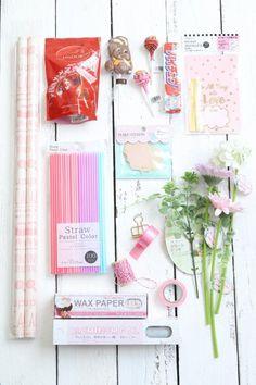 ホワイトデーに♪ 100均アイテムを使ったキャンディブーケの作り方 : 窪田千紘フォトスタイリングWebマガジン「Klastyling」暮らす+スタイリング Powered by ライブドアブログ Diy Step By Step, How To Preserve Flowers, Wax Paper, Pastel Colors, Artificial Flowers, Diy And Crafts, Projects To Try, Wraps, Handmade