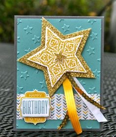Krystal's Cards and More: Bright & Beautiful Card Kit Gold