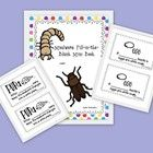 This is a fill-in-the-blank book about the life cycle of a mealworm or darkling beetle. Teachers can use it as an assessment to test students' know...