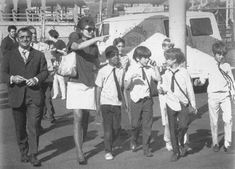 Jackie Onassis- Playing chaperone mom, Jackie took John and some of his school chums for a day of fun at Palisades Amusement Park in New Jersey, 1969 John Kennedy Jr, Jfk Jr, Jacqueline Kennedy Onassis, Palisades Amusement Park, John Junior, John Fitzgerald, Family Images, Photo Essay, Special People
