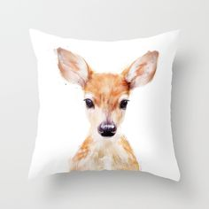 Buy Little Deer by Amy Hamilton as a high quality Throw Pillow. Worldwide shipping available at Society6.com. Just one of millions of products available.
