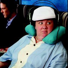 Melissa McCarthy in Bridesmaids :)