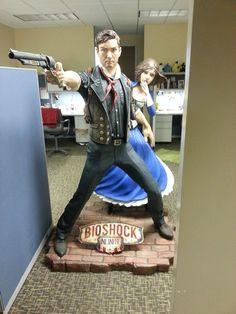 Bioshock Infinite Statue via Reddit user dustinsmusings