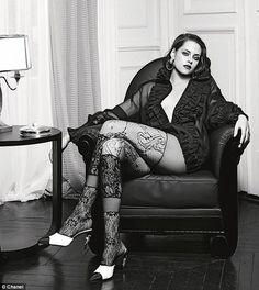¡Seductora! Mira cómo lució Kristen Stewart para la nueva campaña de Chanel
