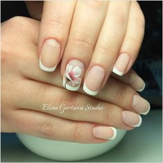 French Manicure Pretty Designs for Elegant Look Trendy Classic French Manicure - nail art designs French nail styles area unit varied and it should be troublesome to decide on only 1 style. Nail Art French, French Nail Designs, Nail Art Designs, Nails Design, French Manicure Nails, French Tip Nails, Manicure And Pedicure, Manicure Ideas, Diy Nails