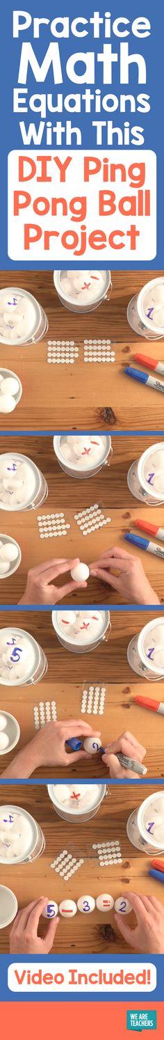 The 33 best Ping Pong Ball Math images on Pinterest | Mathematics ...