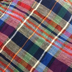 The Ace & Jig Cabin Plaid Textile!