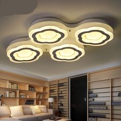 Modern ceiling LED cloud ceiling lights living room lamp simple modern bedroom lamp warm romantic creative led lamp ZH