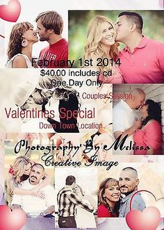 Valentines Couples Photo Session By Creative Image Photography By Melissa