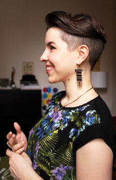 Freshly cut hair - Laura de Lille | Lily.fi