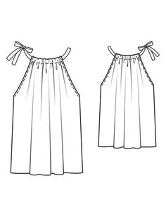 Easy to make. Reminds me of the pillow case dress!