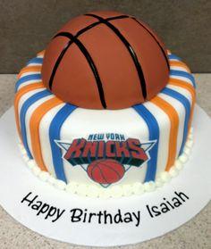 New York Knicks Cake