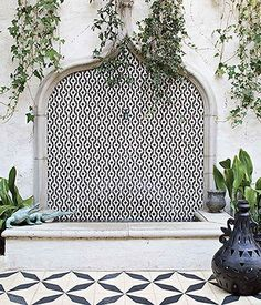 """Considering a home or room renovation in 2016? This inspiring roundup of images from Heath Ceramics' book, Tile Makes a Room, on Veronica's SF Girl By Bay blog is sure to convince you that patterned statement tile is an interior design must. Read more on """"The Weekly Click List"""" over on the One Kings Lane Style Guide!"""