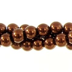 6mm Glass Pearl Round Bead Strand, Chocolate Covered Cherry Presidents Day Sale, Chocolate Covered Cherries, Pearl Beads, Round Beads, Coupon Codes, Cherry, Crafting, Pearls, My Style