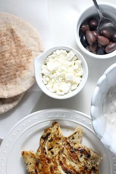 Chicken Gyros with Feta and Tzatziki | 23 Boneless Chicken Breast Recipes That Are Actually Delicious