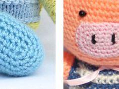 Ovális formák horgolása Baby Shoes, Crochet Hats, Beanie, Blog, Kids, Clothes, Amigurumi, Knitting Hats, Children