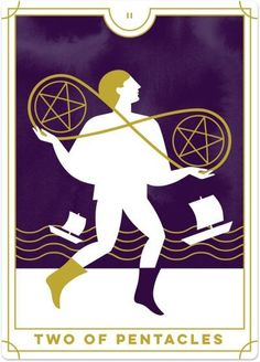 Detailed Tarot card meaning for the Two of Pentacles including upright and reversed card meanings. Access the Biddy Tarot Card Meanings database - an extensive Tarot resource. What Are Tarot Cards, Online Tarot, Daily Tarot, Card Drawing, Tarot Card Meanings, Tarot Readers, Pentacle, Oracle Cards, Tarot Decks