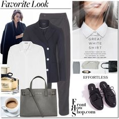 Steal His Style by elena-starling on Polyvore featuring Jil Sander, Topshop, Club Monaco, Kurt Geiger, Gucci and Front Row Shop