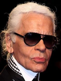 Karl Lagerfeld, head of House of Chanel since 1983