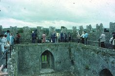 Traveling in Europe: Things to do or see: Kiss the Blarney Stone! I have, and I go sick for a week! But it seems to have worked.