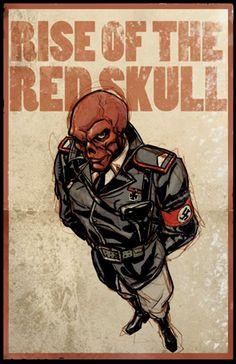 RISE OF THE RED SKULL by Liko #MARVEL #villain