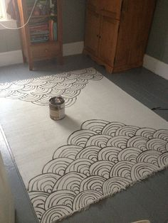 Wonderful Yes, You Can Paint A Rug . Itu0027s Fairly Easy U0026 Inexpensive, And Can