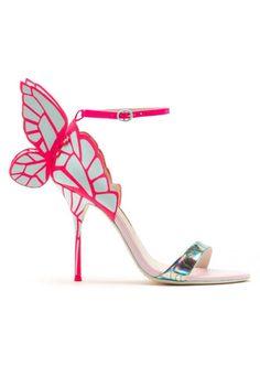 Sophia Webster butterfly heels