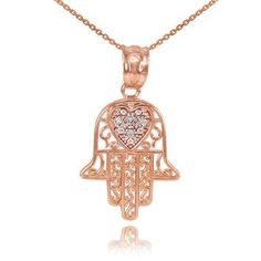 New Middle Eastern Jewelry Middle Eastern Jewelry Fine White Gold Diamond-Accented Heart Filigree-Style Hamsa Pendant Necklace online shopping - Ustopoffer Silver Necklaces, Gold Jewelry, Fine Jewelry, Women Jewelry, Silver Earrings, Heart Jewelry, Jewelry Box, Jewlery, Hamsa Necklace
