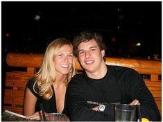 Sindey Crosby with Girlfriend Kathy Leutner